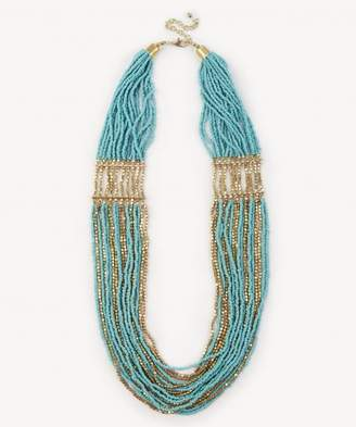 Sole Society Multistrand Beaded Necklace