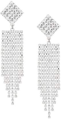 Alessandra Rich Faba statement earrings