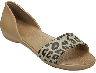 Crocs Graphic D'Orsay Flats - Lina Graphic $34 thestylecure.com