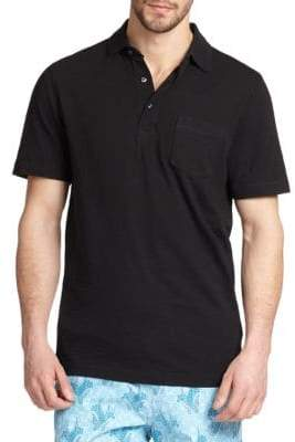 Saks Fifth Avenue COLLECTION Slub Polo