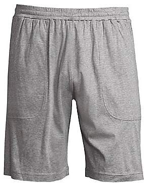 Saks Fifth Avenue Heathered Cotton Shorts