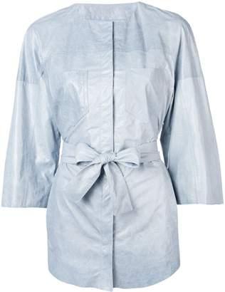 Drome tie waist jacket