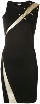 Just Cavalli embellished slash-detail dress