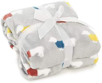 George Home Sausage Dog Super Soft Throw