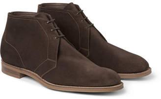 Edward Green Shanklin Suede Chukka Boots