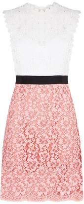 Sandro Open Back Lace Dress