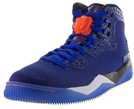 Nike Jordan Men's Air Jordan Spike Forty PE Game Royal/Ttl Orng/White/Blk Basketball Shoe 13 Men US