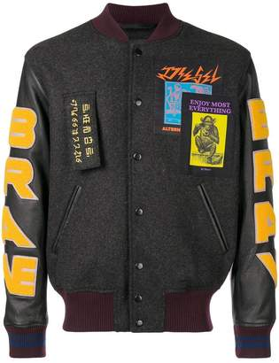 Diesel Varsity bomber jacket
