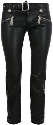 DSQUARED2 cropped biker trousers
