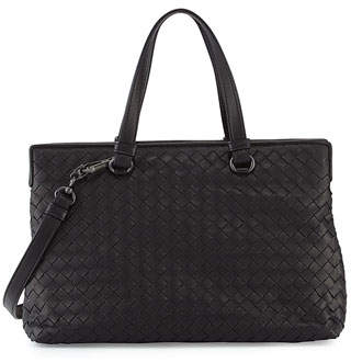Bottega Veneta Medium Intrecciato Nappa Top Handle Bag