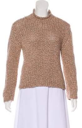 Brunello Cucinelli Wool Mock Neck Sweater