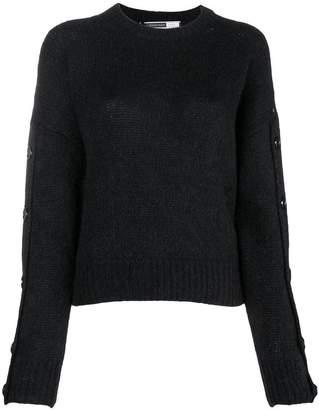Sportmax Code button sleeve sweater