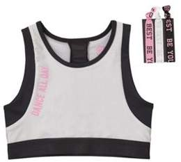F&F Active Dance All Day Crop Top With Hairbands 5-6 years
