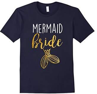 Mermaid Bride Birthday Bachelorette Bridesmaid Party Shirt