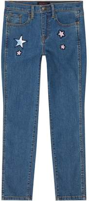 Juicy Couture Star Embroidered Skinny Jeans