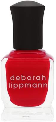 Deborah Lippmann Luxurious Nail Color - The Heat Is On (Scalding Scarlett Creme)