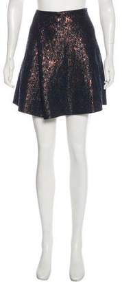 3.1 Phillip Lim Brocade Mini Skirt