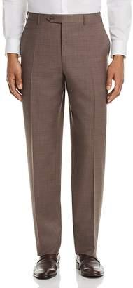 Canali Cross Weave Regular Fit Dress Pants