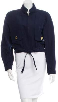 Christian Lacroix Cropped Zip-Up Jacket