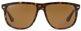 Ray-Ban Unisex Polarized Square Sunglasses, 60mm