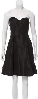 Ralph Lauren Strapless Silk Dress
