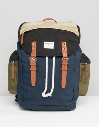SANDQVIST Lars Goran Cordura Backpack In Multi