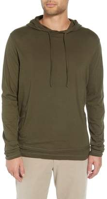 Vince Regular Fit Double Layer Hoodie