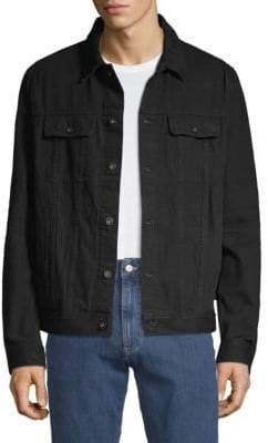 AG Jeans Classic Buttoned Jacket