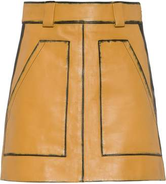 Prada high-waist mini skirt