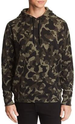 HUGO Dayfun Camouflage-Print Hooded Sweatshirt