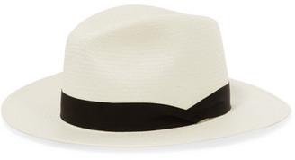 rag & bone - Straw Panama Hat - White $230 thestylecure.com