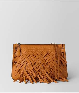 Bottega Veneta Orange Palio Fringe Messenger Bag