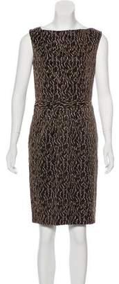 Balenciaga Sleeveless Knee-Length Dress