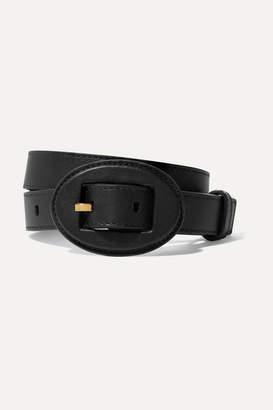 Altuzarra Arianna Leather Belt - Black