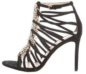 Tory Burch Mariel Faux-Pearl Sandals