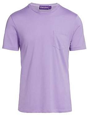 Ralph Lauren Purple Label Men's Washed Pocket Tee