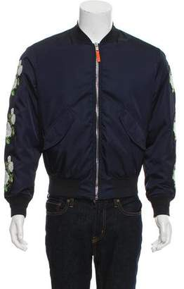 Christian Dior Embroidered Bomber Jacket