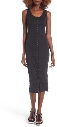 Women's Bp. Snap Front Midi Dress $49 thestylecure.com