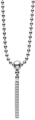 Lagos CaviarTM Spark Diamond Stick Pendant Necklace