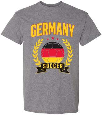 Laurèl UGP Campus Apparel Belgium Soccer 2018 World Football Cup T Shirt - Graphite Heather