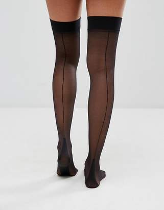 Jonathan Aston Backseam and Heel Stockings