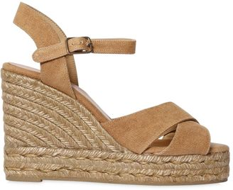 80mm Canvas Wedges $138 thestylecure.com