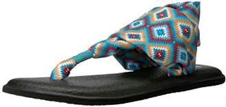 Sanuk Women's Yoga Sling 2 Print Vintage Flip-Flop