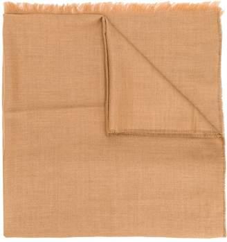 Ermenegildo Zegna embroidered scarf