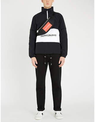 CK Calvin Klein Logo shell jacket