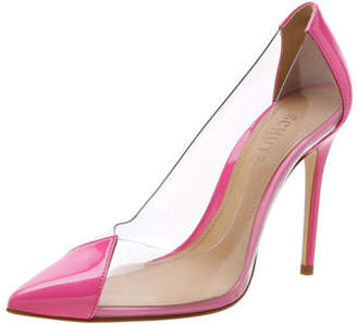 Schutz Cendi See-Through Vinyl Pumps