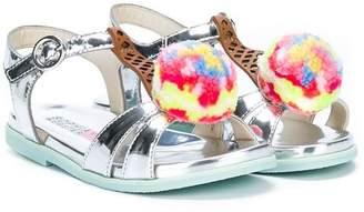 Sophia Webster Mini metallic ice cream sandals