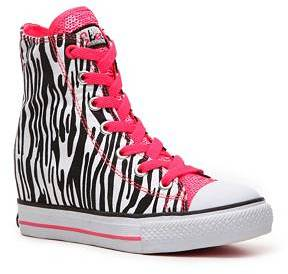 Skechers Hydee Gimme Wicked Girls Toddler & Youth High-Top Wedge Sneaker