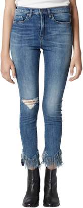 Blank NYC BLANKNYC The Great Jones Frayed Skinny Jeans