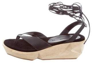 Rachel Comey Thong Wedge Sandals w/ Tags